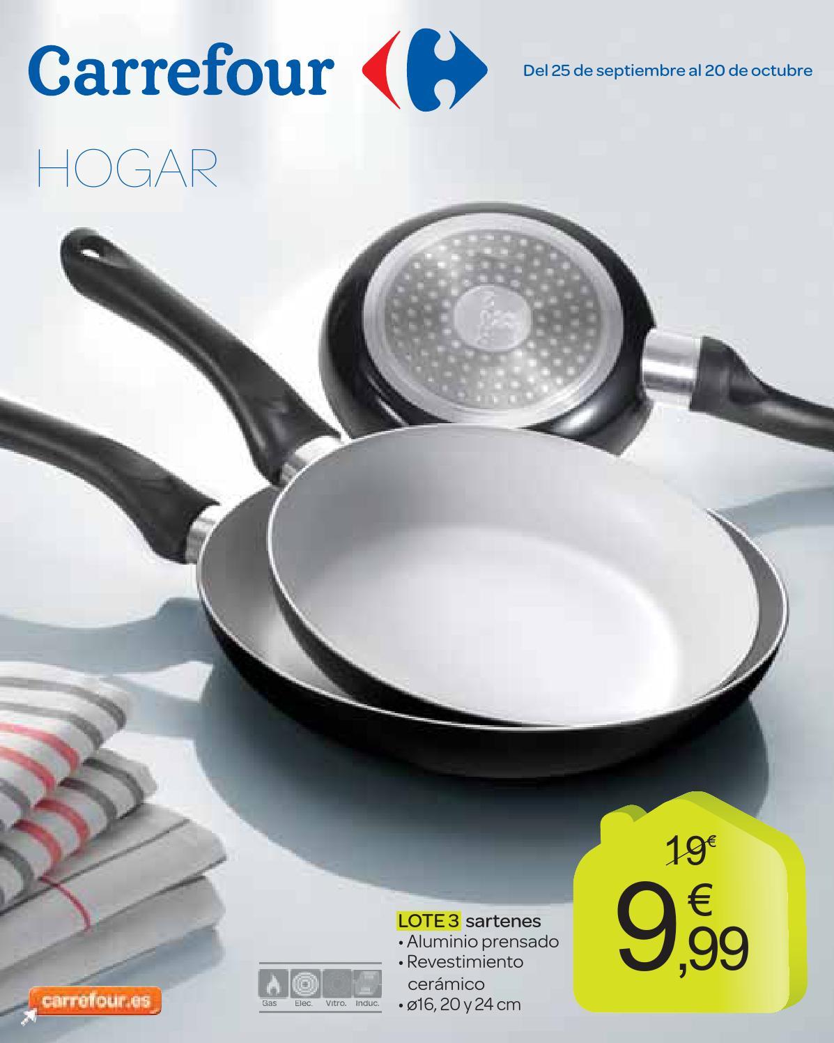 Catalogo carrefour moda hogar octubre by carrefour online for Cocina de gas carrefour