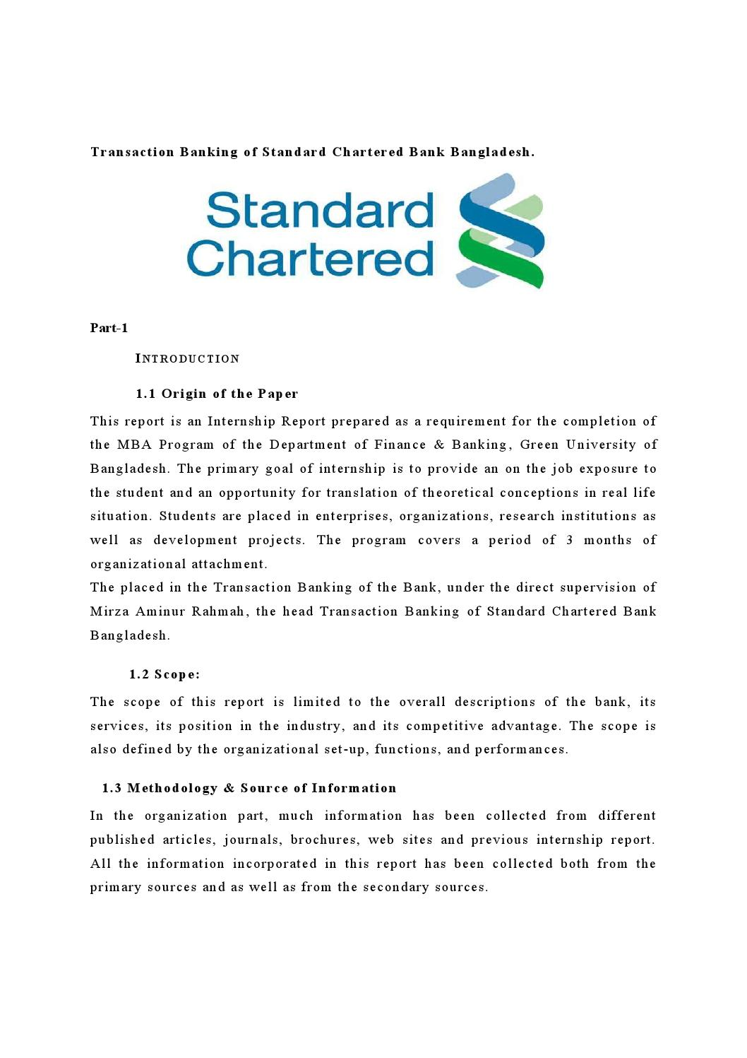 Standard Chartered Bank Employee Reviews