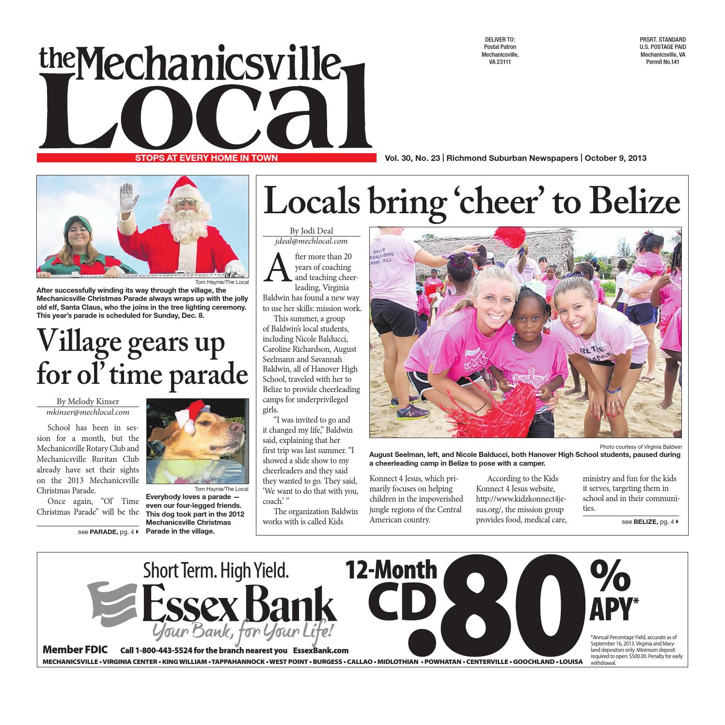 10 09 2013 By The Mechanicsville Local Issuu