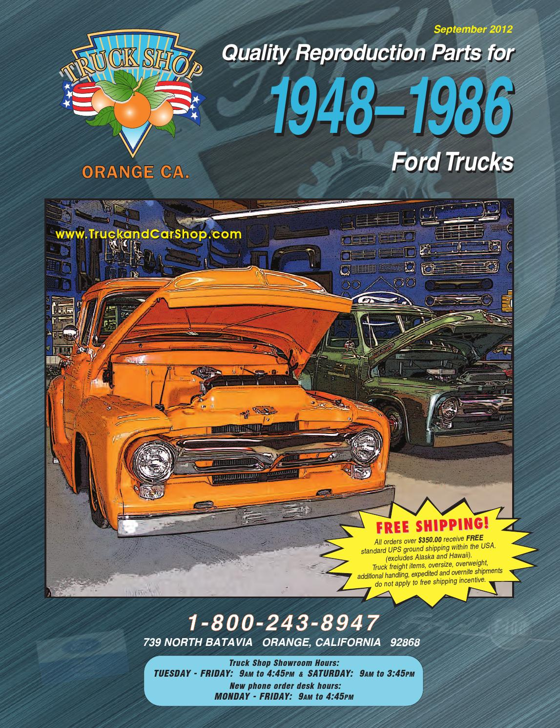 48 86 Ford Web By Truck Car Shop Issuu Wiring Of 12 Volt 2speed Wiper Steeringcolumnmounted Switch