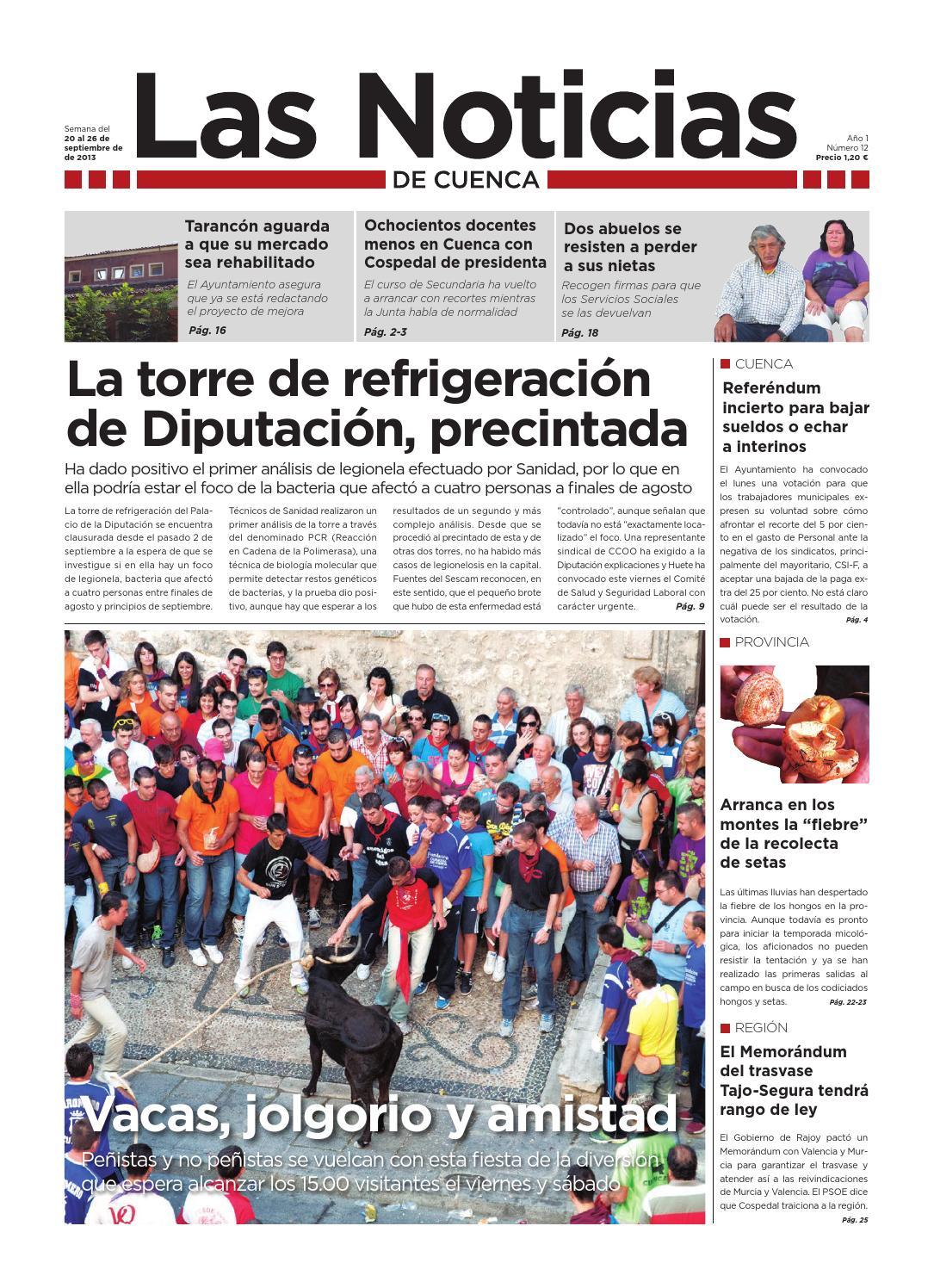 Las Noticias, número 12 by Las Noticias de Cuenca - issuu