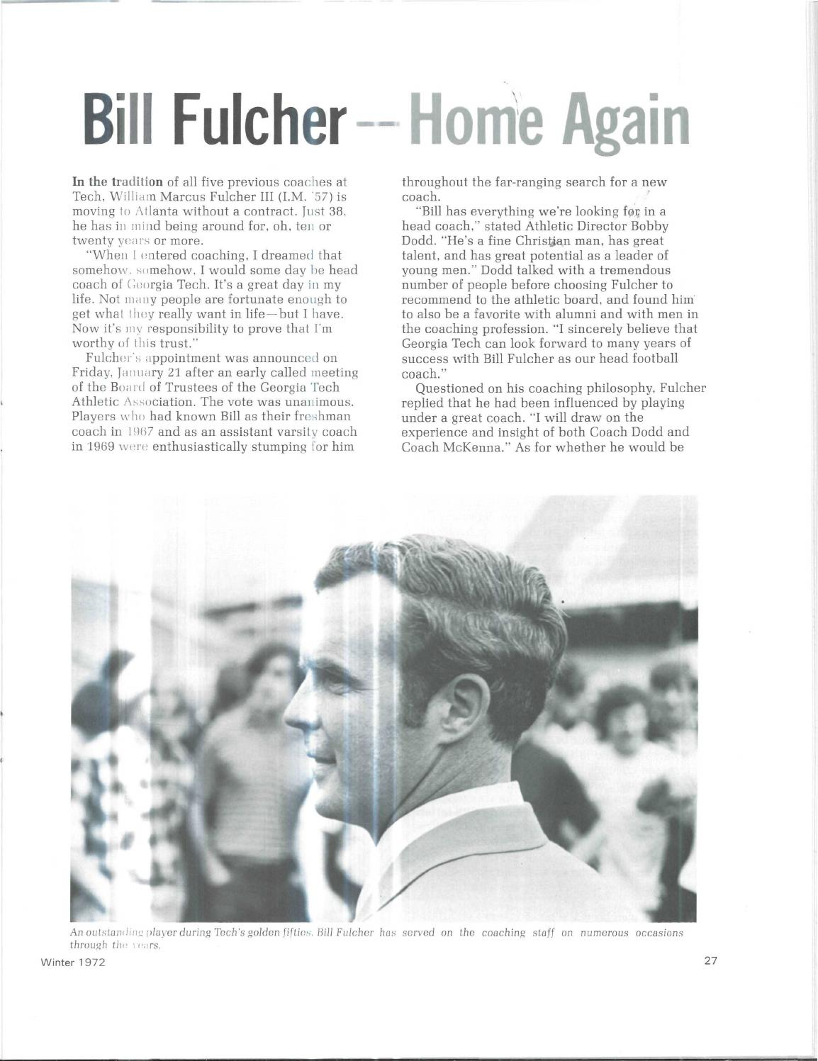 Georgia Tech Alumni Magazine Vol. 50, No. 02 1972 by Georgia Tech Alumni  Association - issuu
