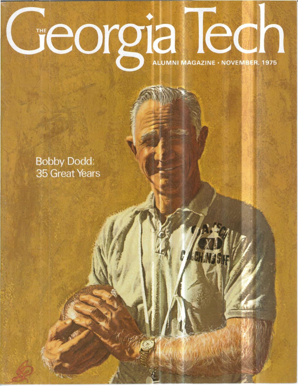 Georgia Tech Alumni Magazine Vol. 52, No. 01 1975 by Georgia Tech ...