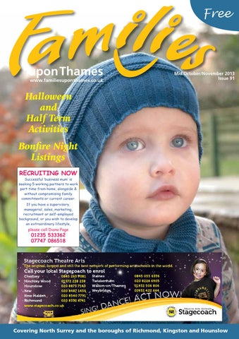 a3c4fa7ae4c Families Upon Thames Mid Oct-Nov 2013 by Families Magazine - issuu