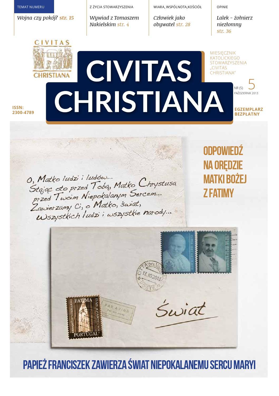 Nr 5 Civitas Christiana By Civitaschristiana Issuu