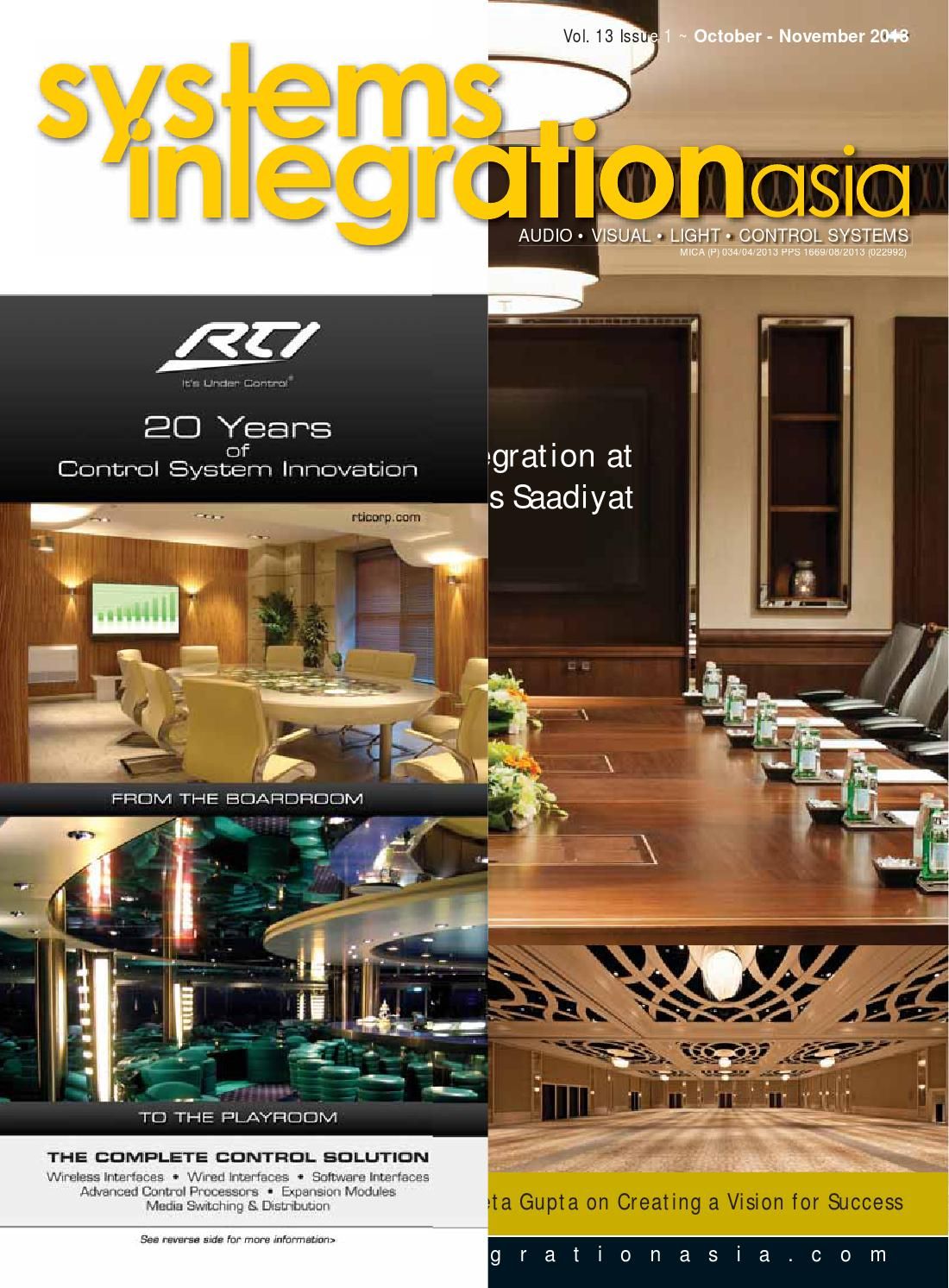 Systems Integration Asia October November 2013 By Spinworkz Pte Ltd Crazy Telephone Wiring India Issuu