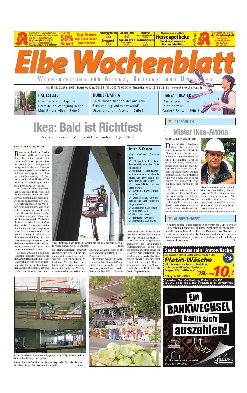 Altona KW41-2013 by Elbe Wochenblatt Verlagsgesellschaft mbH & Co.KG ...