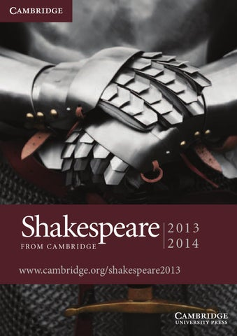 the cambridge companion to shakespeare and contemporary dramatists hoenselaars ton