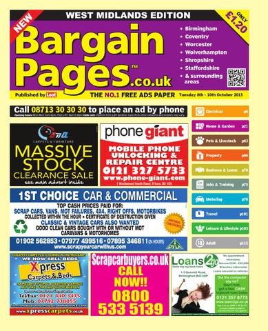 93dc9524232c6 Bargain Pages Midlands by Loot - issuu