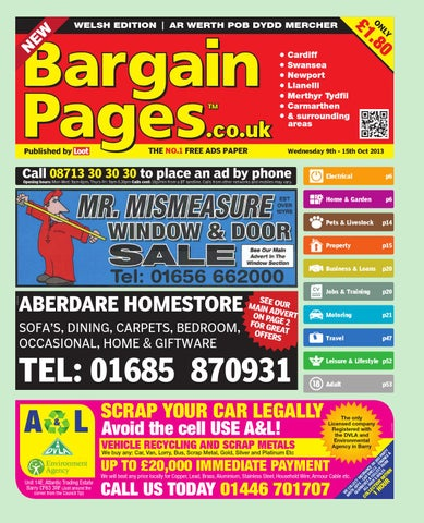 2756345f Bargain Pages South Wales by Loot - issuu