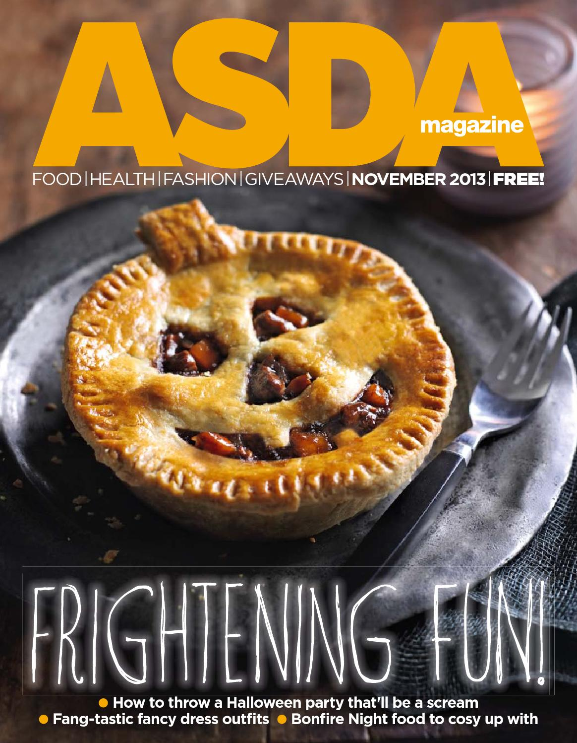 Asda Magazine November 2013 By Asda Issuu