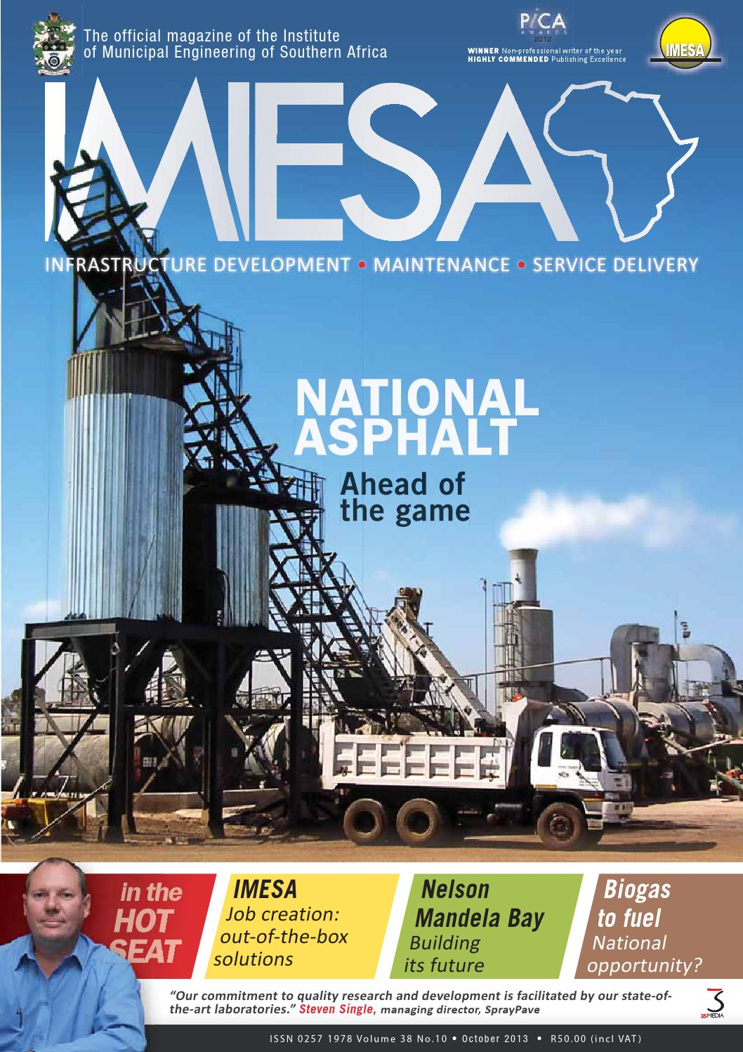 Imiesa October 2013 By 3s Media Issuu Circuit Breakers Witbank O Olxcoza