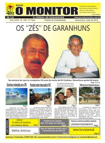 d454068a5 JORNAL O MONITOR 146 - MAIO DE 2012 by Leonardo Ferreira - issuu