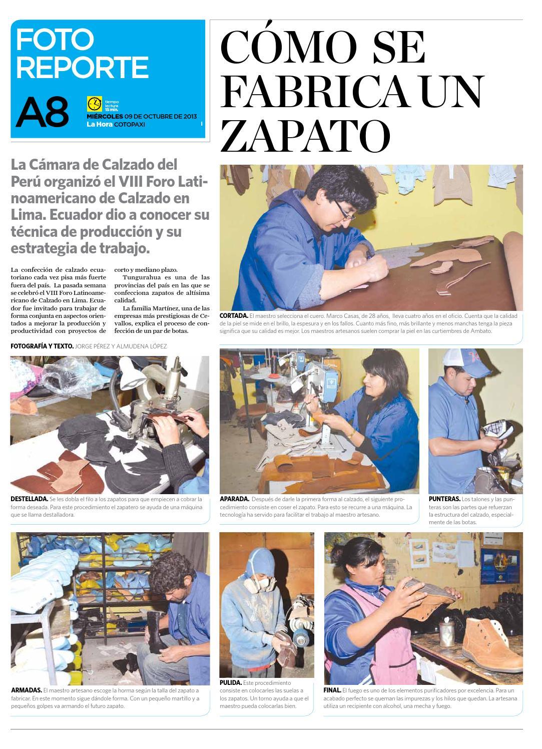 La Hora Cotopaxi 09 octubre 2013 by Diario La Hora Ecuador - issuu