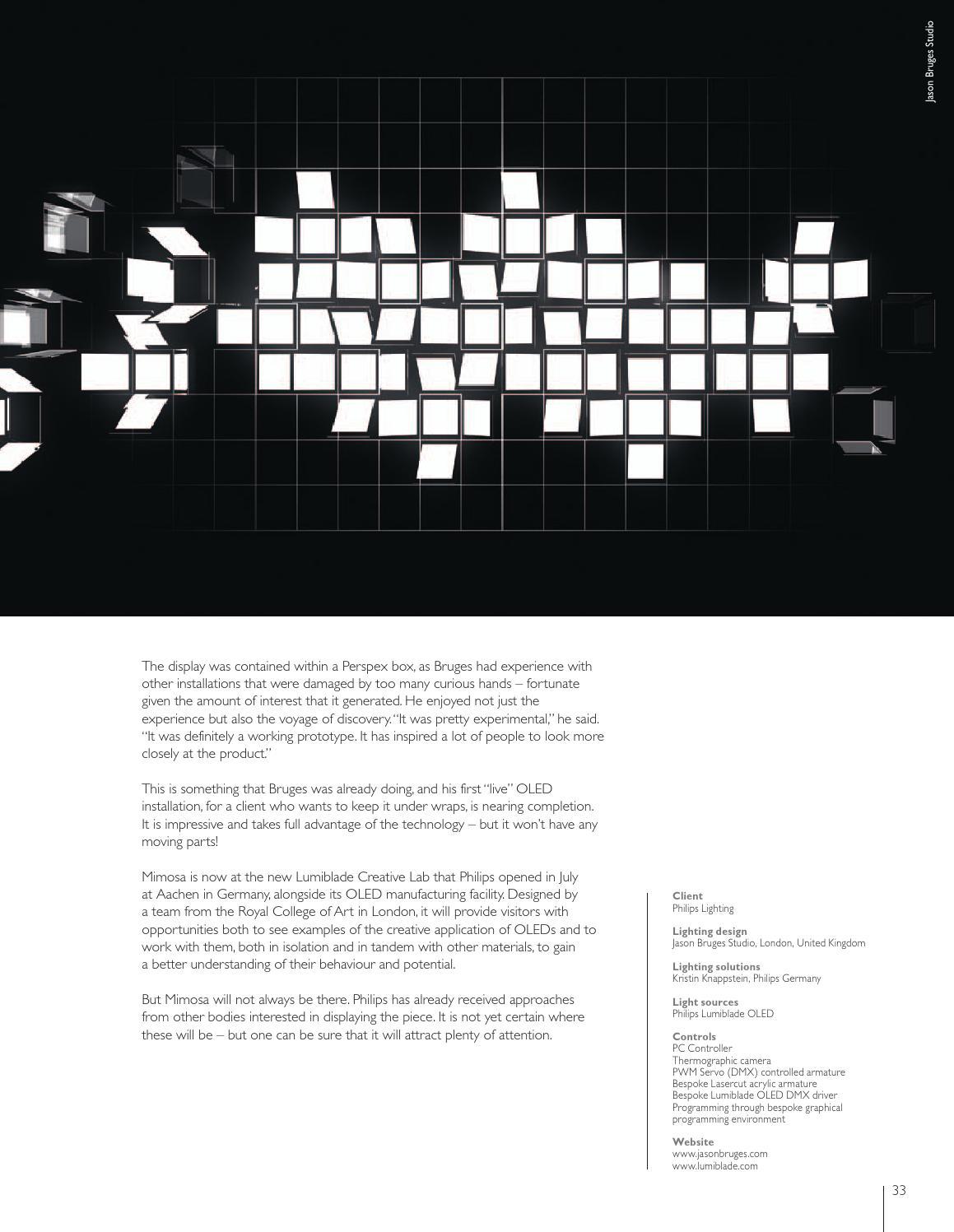 Luminous 6 | Organic Light by Luminous – International Lighting