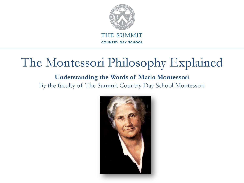 Help me do it myself - the main principle of the technique of Maria Montessori