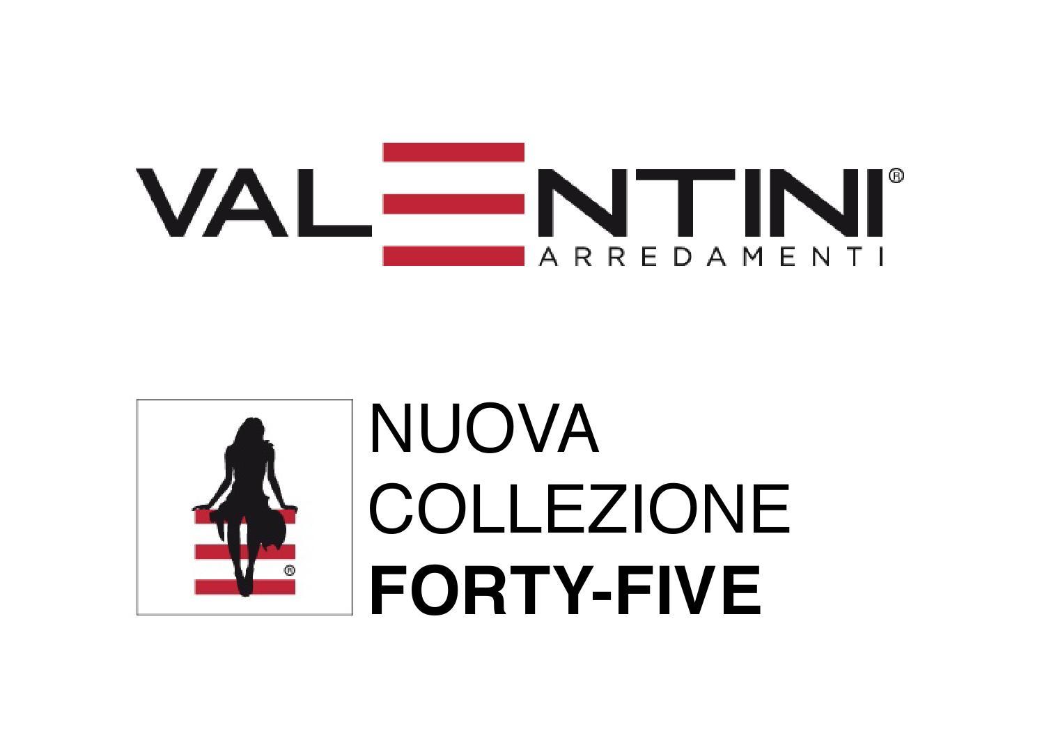 Valentini arredamenti forty five by valentini for Valentini arredamenti