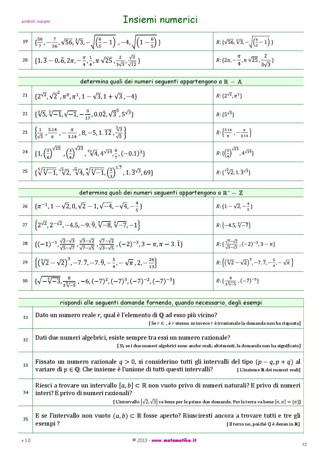 Gli Esercizi Di Matematika Versione 10 By Progetto Matematika Issuu