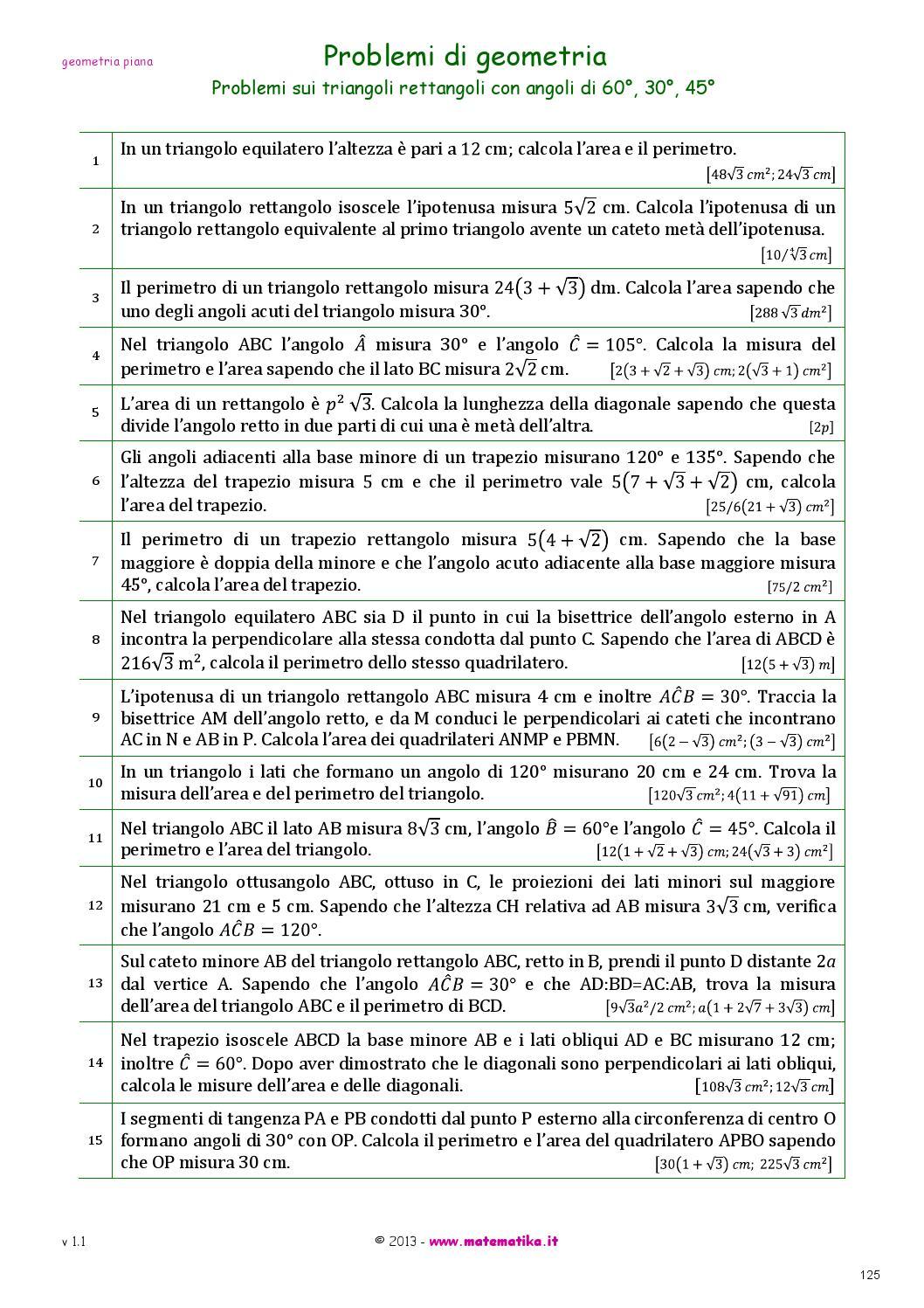 Gli esercizi di matematika versione 1 0 by progetto for Problemi di primo grado a due incognite esercizi