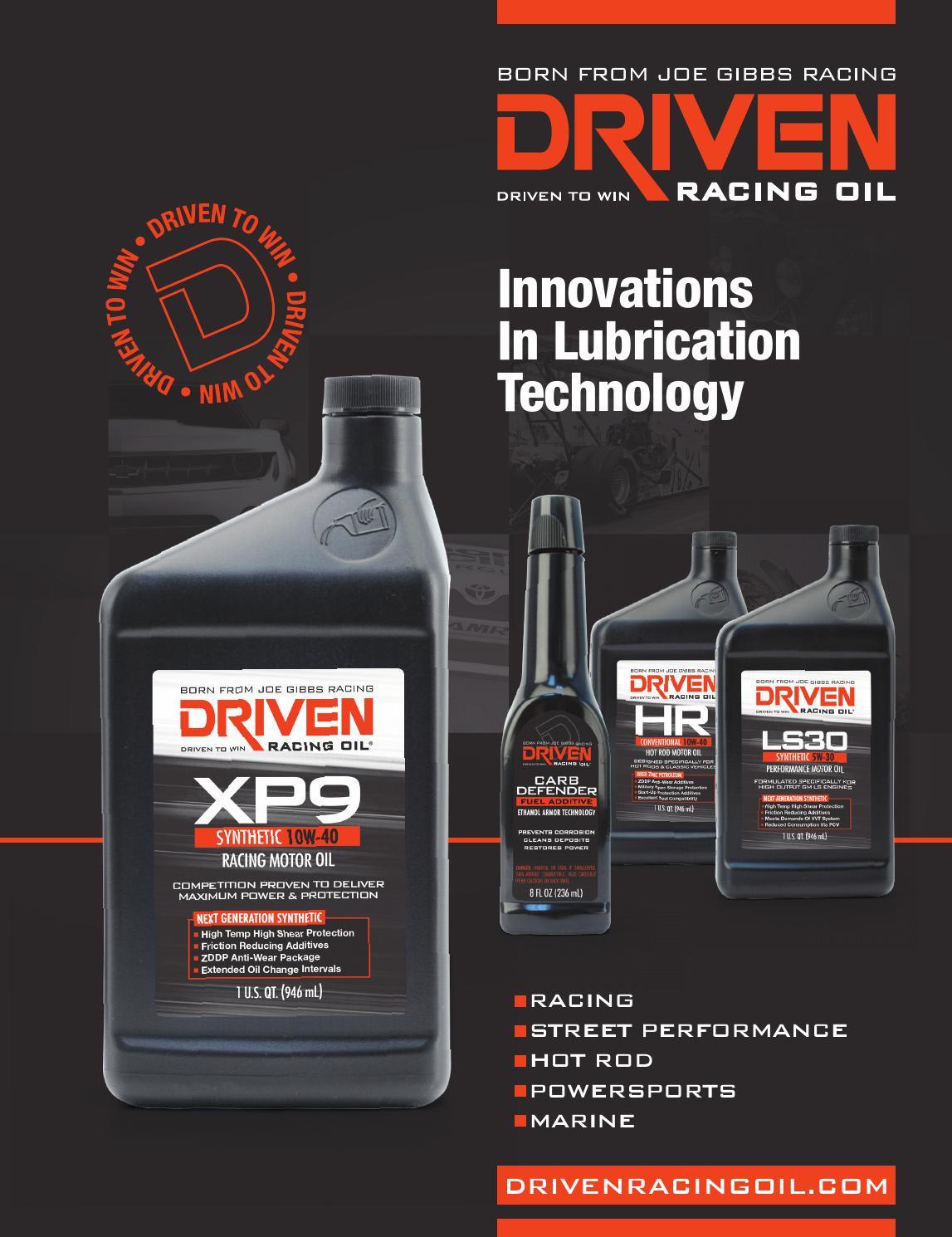 2014 Driven Racing Oil Catalog by COMP Performance Group