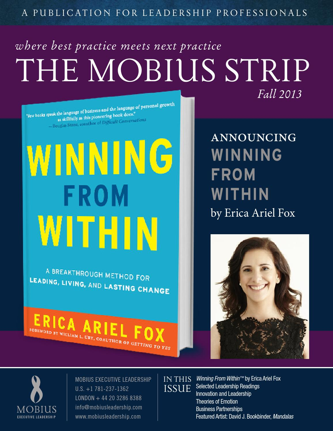 The Mobius Strip Fall 2013 By Executive Leadership Issuu Greenlight Ariel Series Premium