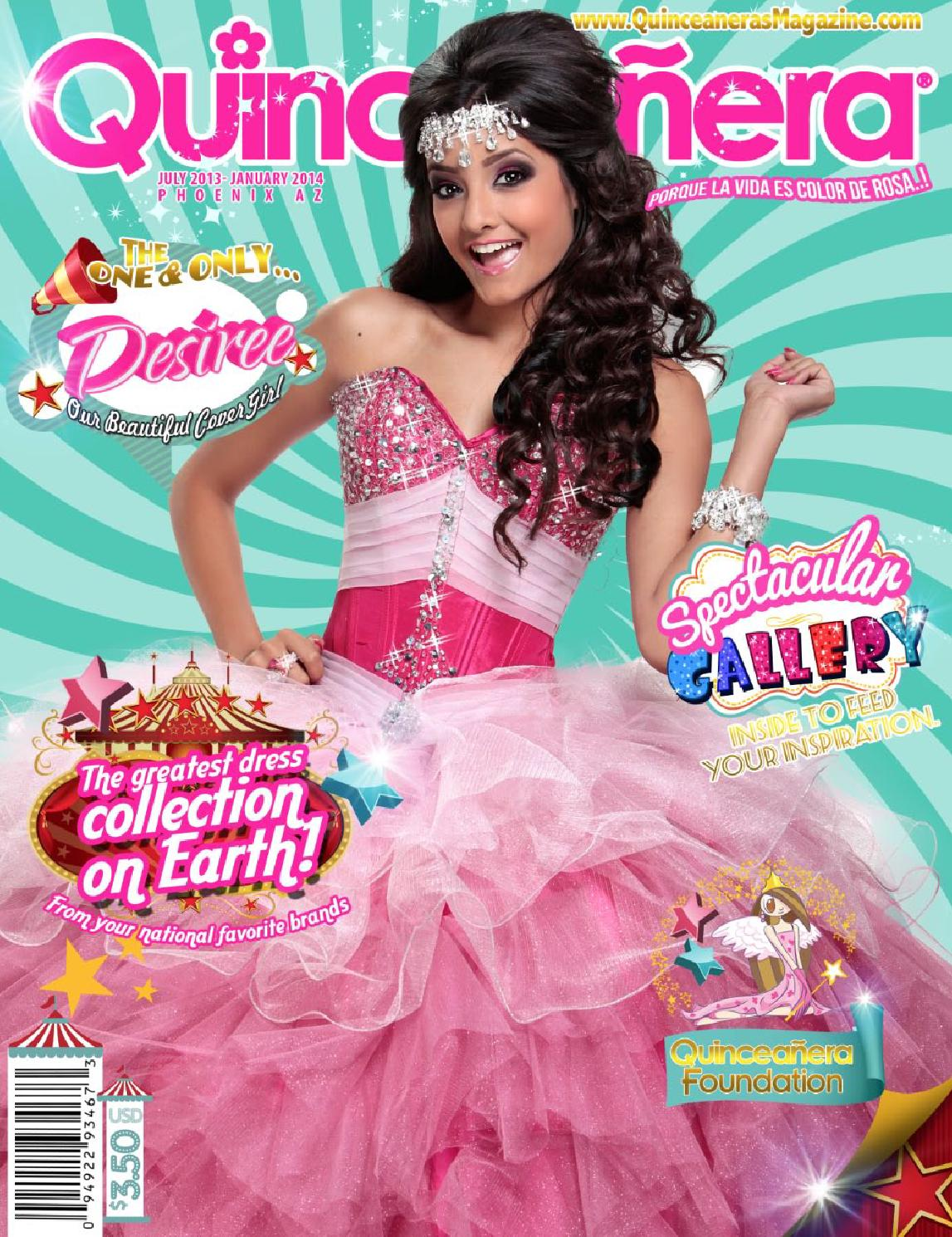 Quinceaneras Magazine Phoenix 2013 2 by Texas Quinceaneras Magazine ...