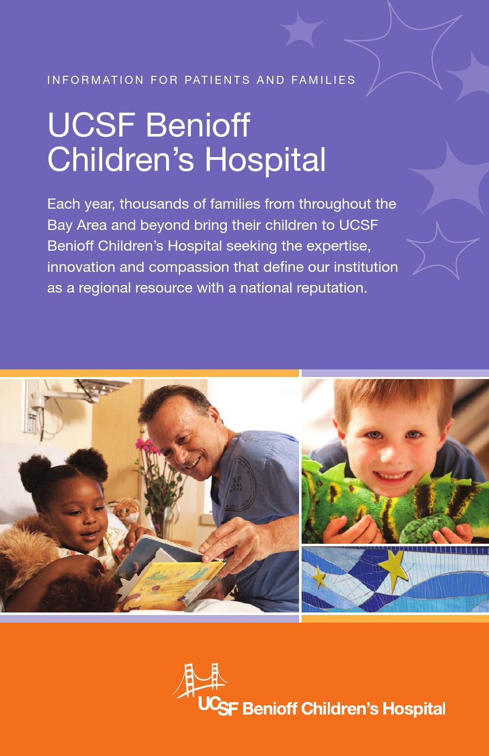 UCSF Benioff Children's Hospital: Information for Patients and