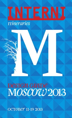 Interni Design Guide Moscow 2013 by Interni Magazine - issuu 262ec891649