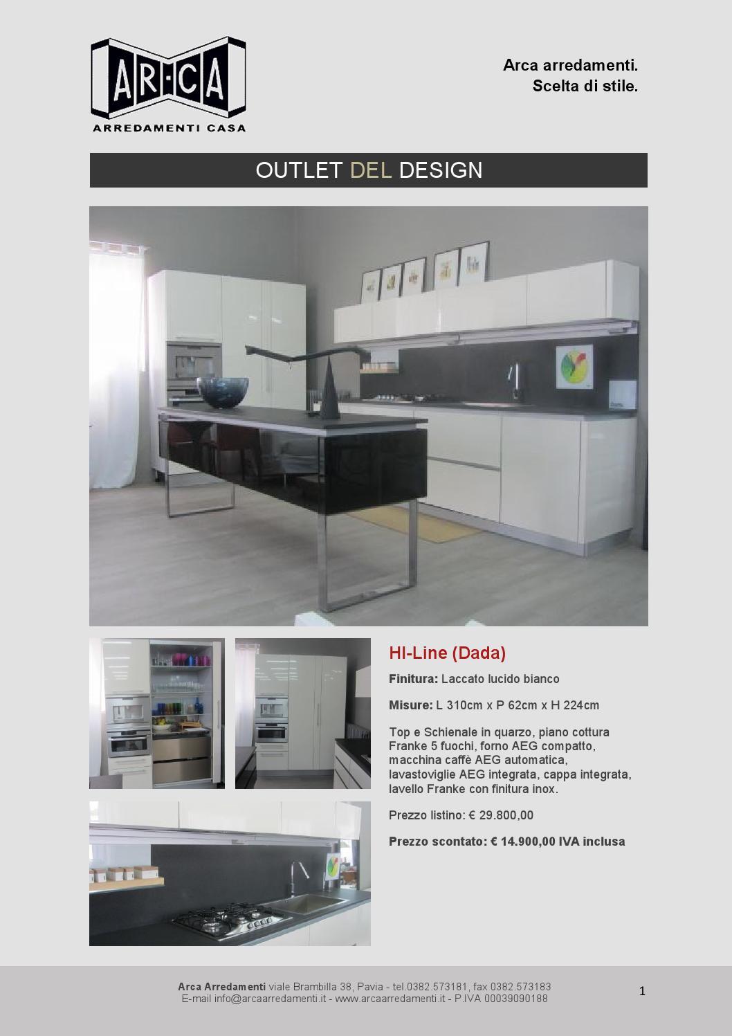 Outlet arca arredamenti by echo arte e comunicazione issuu for Fc arredamenti