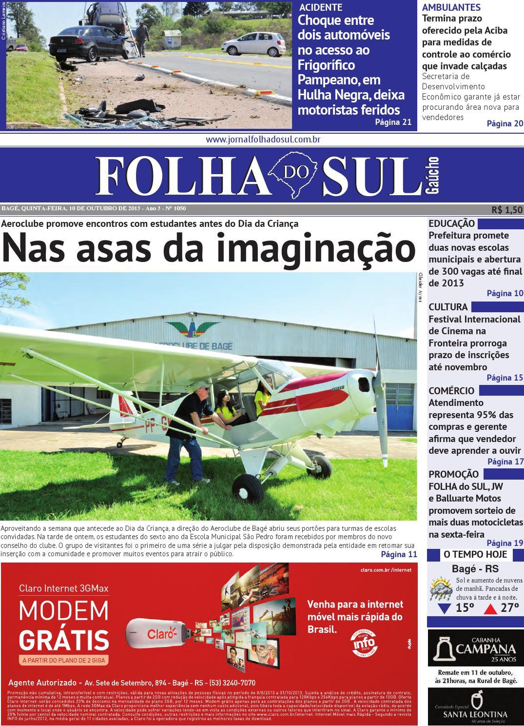 3b4a3d14a4f58 Folha do Sul Gaúcho Ed. 1050 (10 10 2013) by Folha do Sul Gaúcho - issuu
