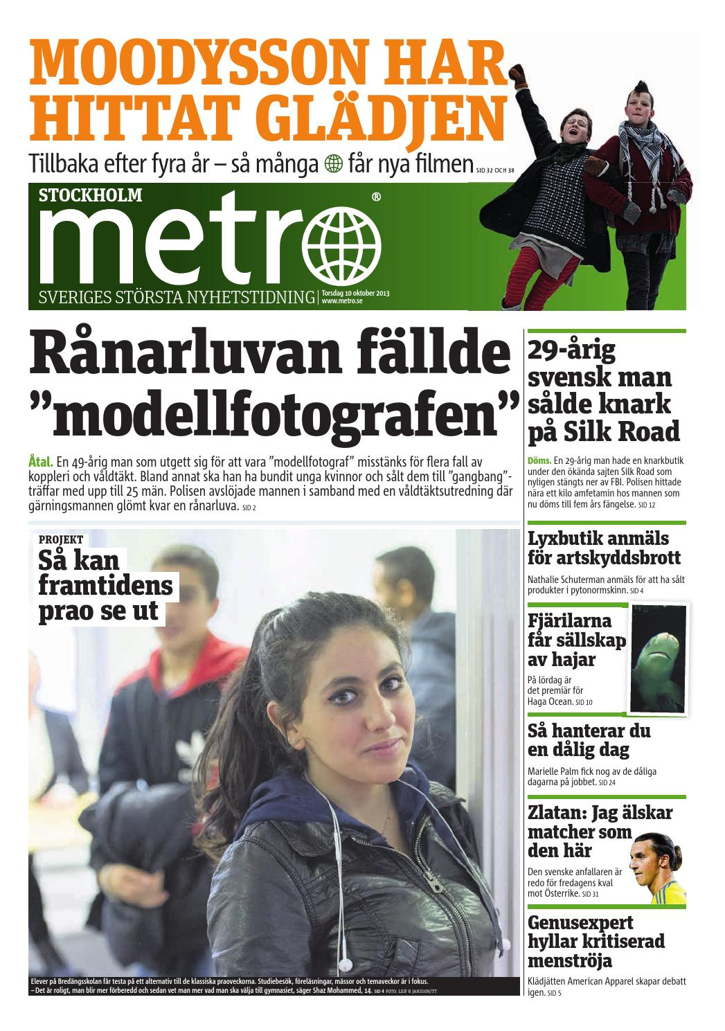 20131010 se stockholm by Metro Sweden - issuu 574e7f2581631