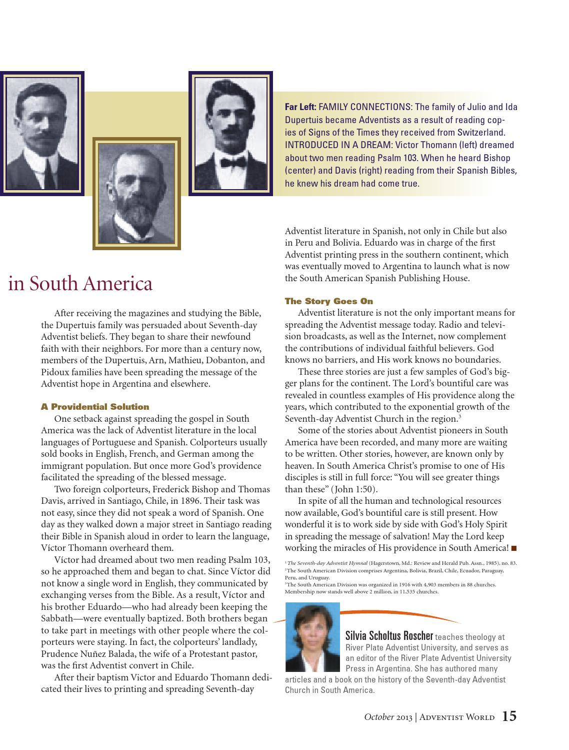 Adventist World - October 12, 2013 by Adventist Record - issuu