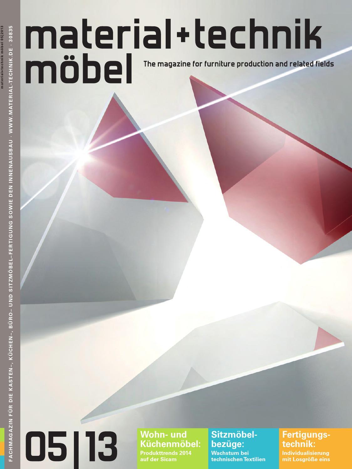 Material + Technik Möbel Ausgabe 05/2013 By Material + Technik Möbel   Issuu