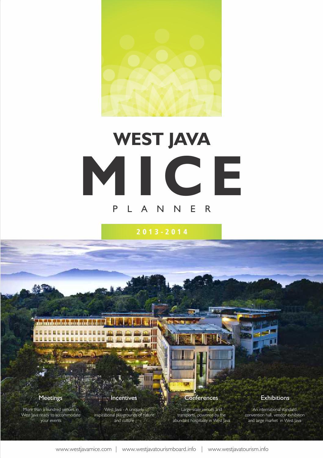 West Java Mice Planner 2013 2014