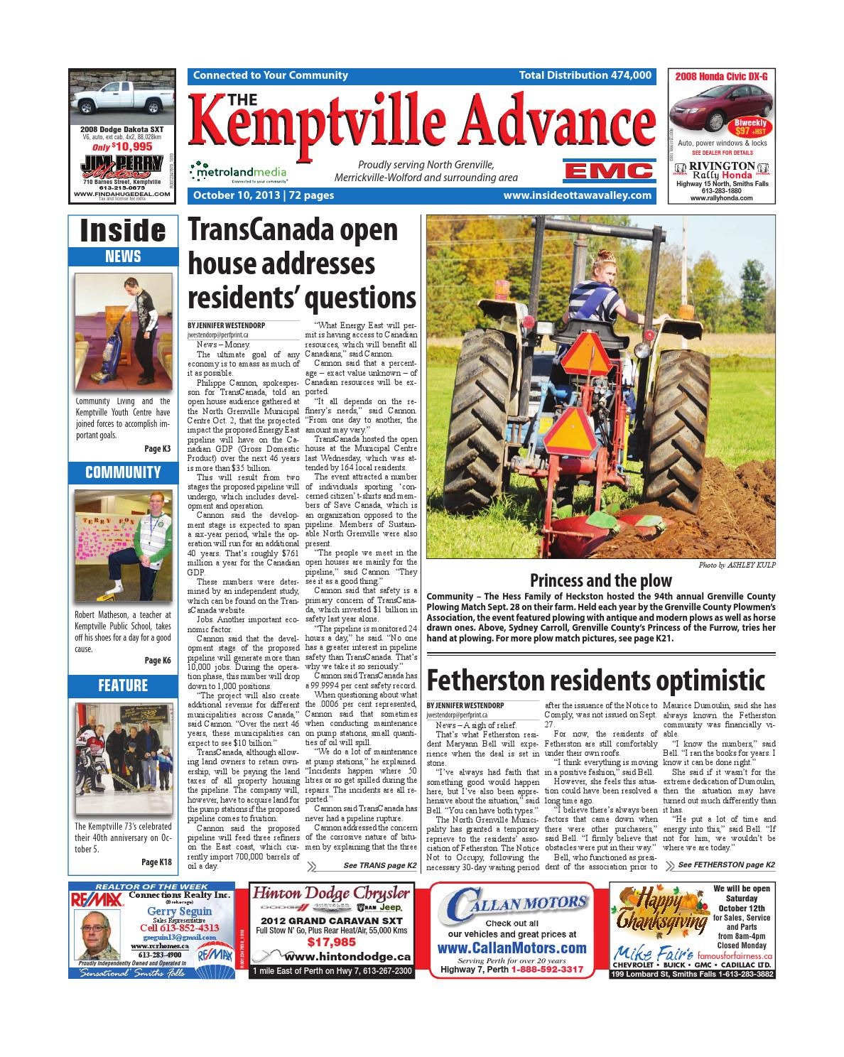 Kemptville101013 By Metroland East Kemptville Advance Issuu Donwload Solve Elec 25 Free Electronic Electric Tool Xtronic