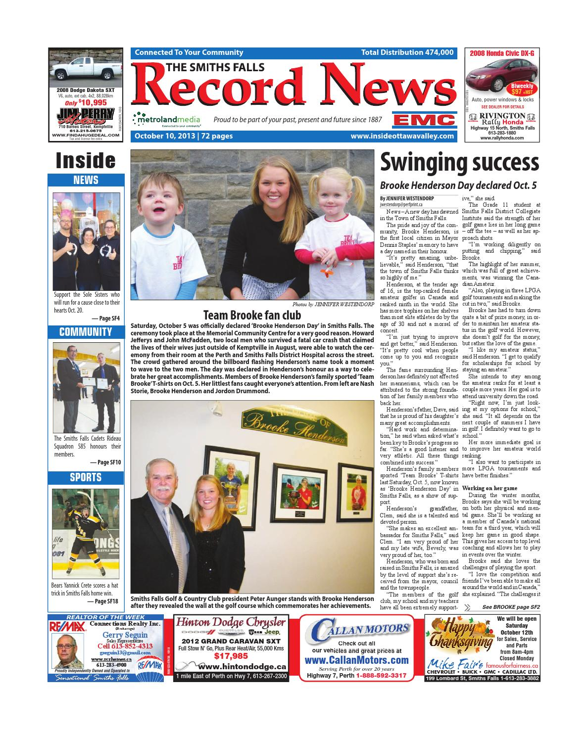 18f46133097e Smithsfalls101013 by Metroland East - Smiths Falls Record News - issuu