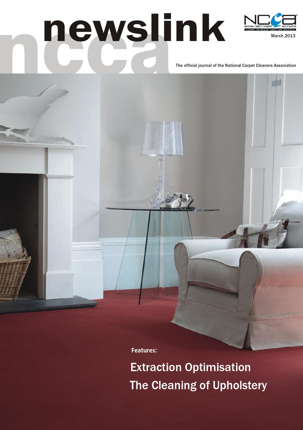 March 2013 by National Carpet Cleaners Association - issuu