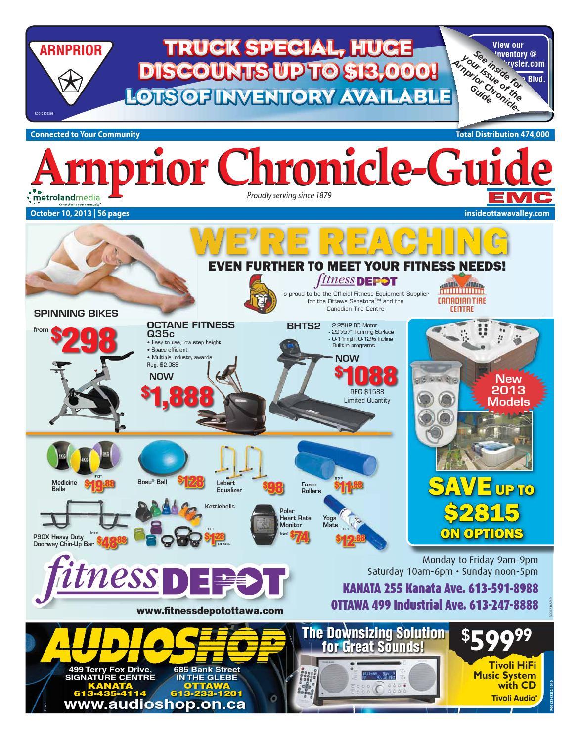 Arnprior101013 by Metroland East - Arnprior Chronicle-Guide - issuu