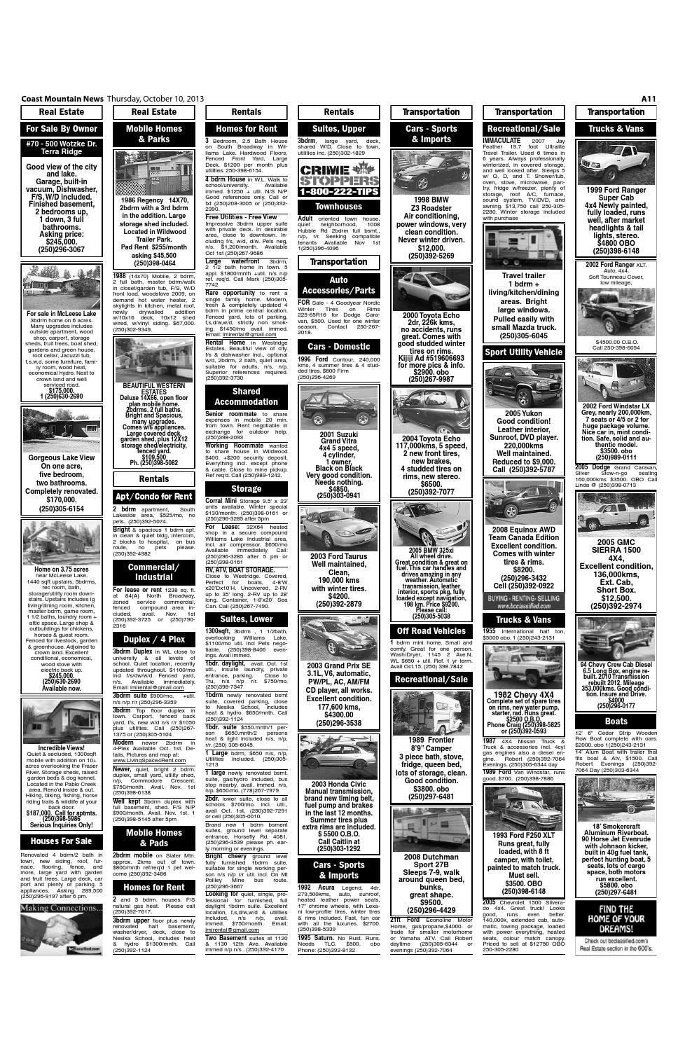 Coast Mountain News, October 10, 2013 by Black Press - issuu