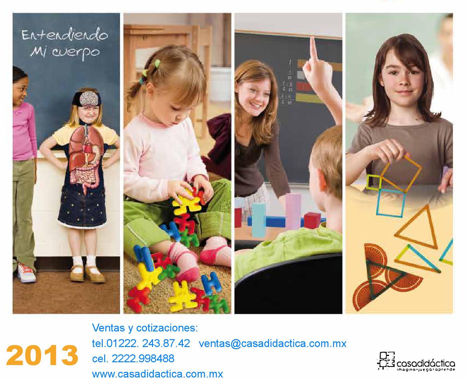 Catálogo Juguetes Educativos de PLASTICO by CASA DIDACTICA- IDEAS HANDS -  issuu d26545ac5783