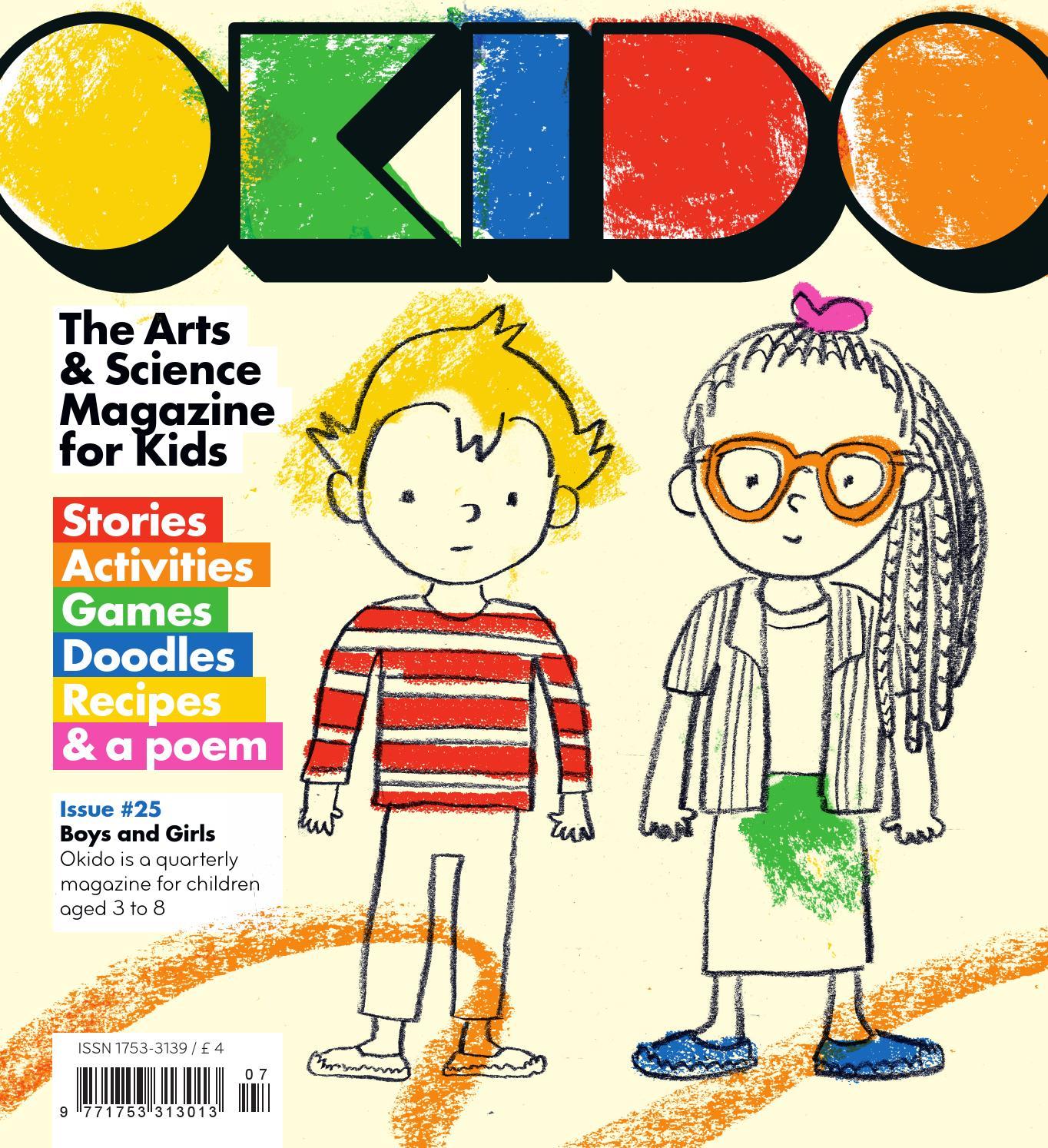Okido issue 25 - Boys and Girls by Okido Magazine - issuu
