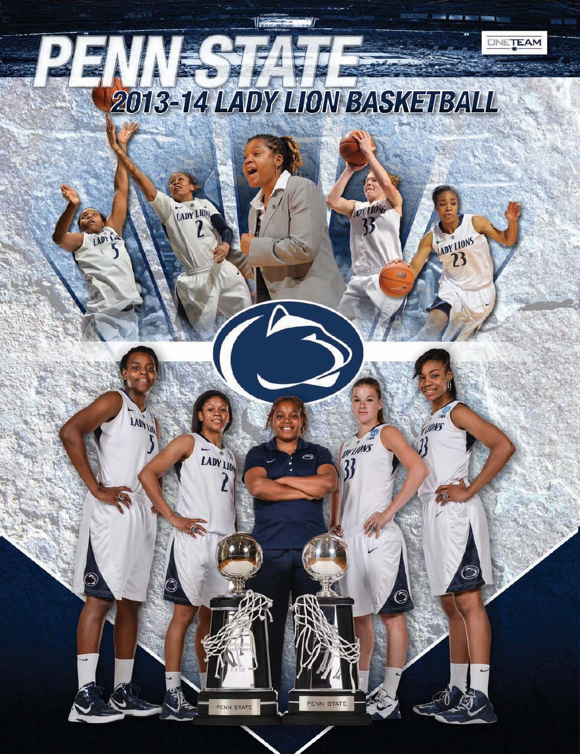 buy popular e1647 f7227 2013-14 Penn State Lady Lion Basketball Yearbook by Penn State Athletics -  issuu