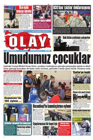11 10 2013 Gazete Sayfalari By Diyarbakir Olaygazetesi Issuu