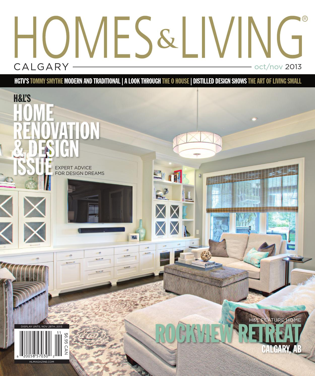 Homes & Living Calgary Oct/Nov 2013 issue by Homes & Living Magazine ...