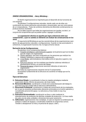 Disenoganizacionamintzberg By César Hernandez Issuu