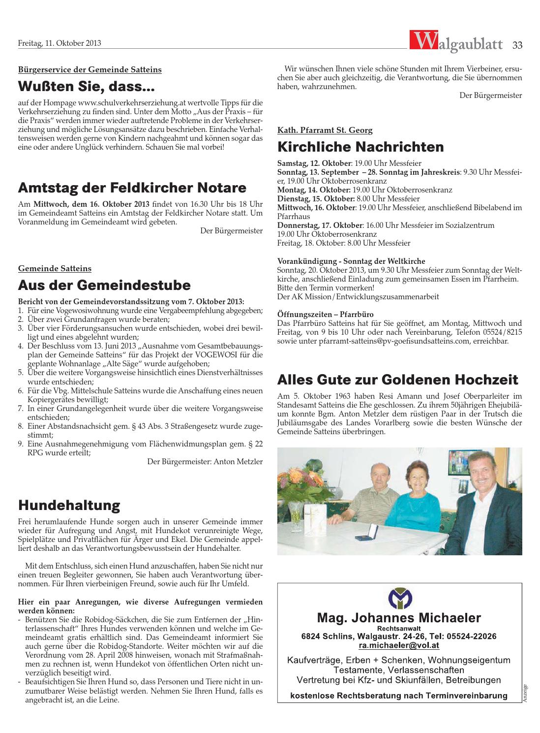 Walgaublatt 41 By Regionalzeitungs Gmbh Issuu