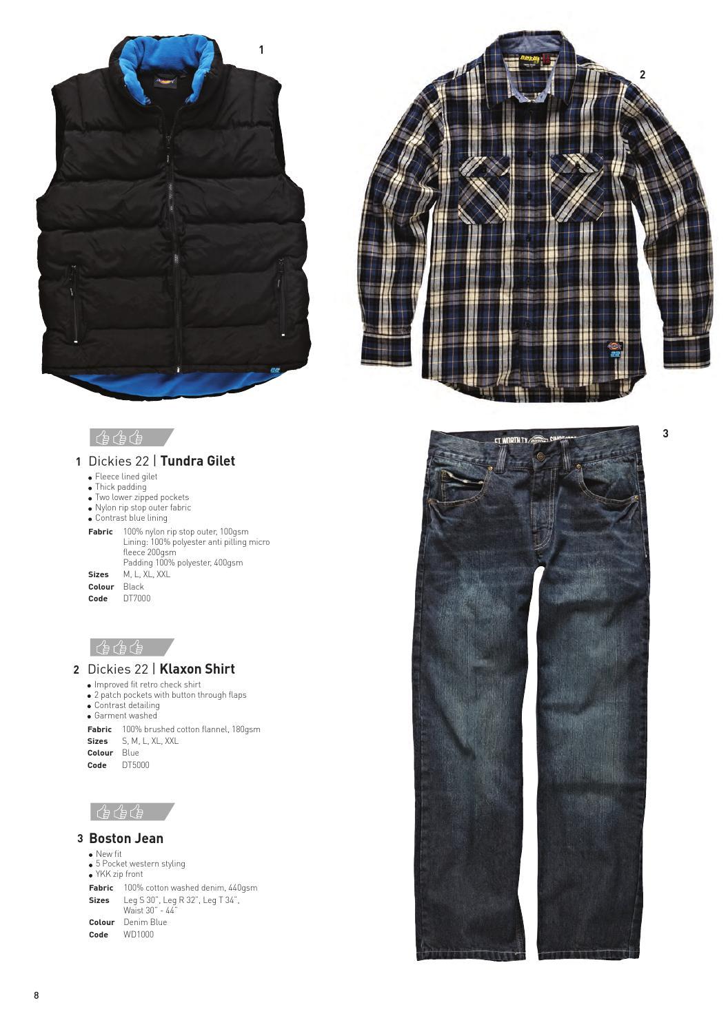 Dickies Two Tone Micro Fleece XL Blue