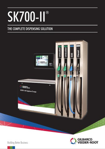 SK700 II Fuelling Solution Brochure by Gilbarco MEA - issuu