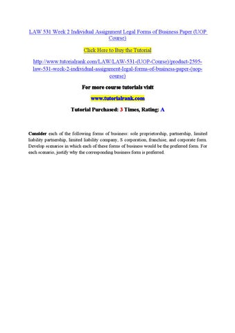 law 531 business forms worksheet Check out our top free essays on law 531 business forms worksheet to help you write your own essay.