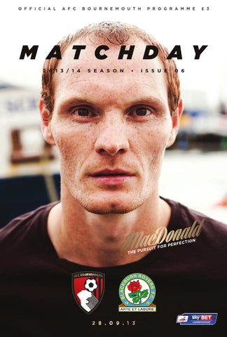 Matchday  AFC Bournemouth v Blackburn Rovers by AFC Bournemouth - issuu 10da6cb66